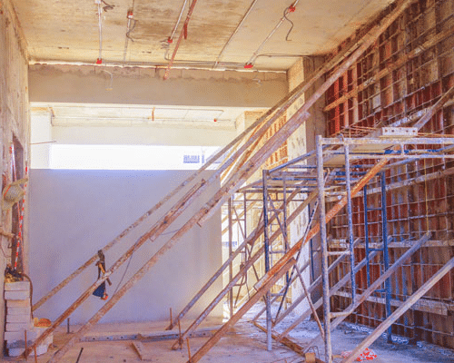 Scaffolding For Projects Inside Buildings